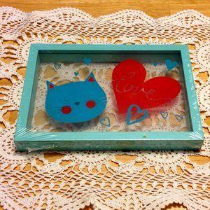 Cat Love Frame, new